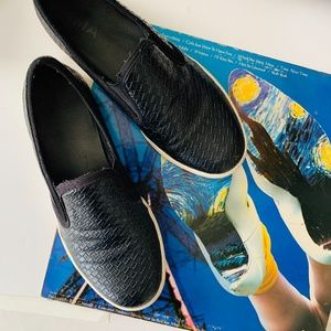 MIA Corklynn Basket Weave Slip On Fashion Sneakers